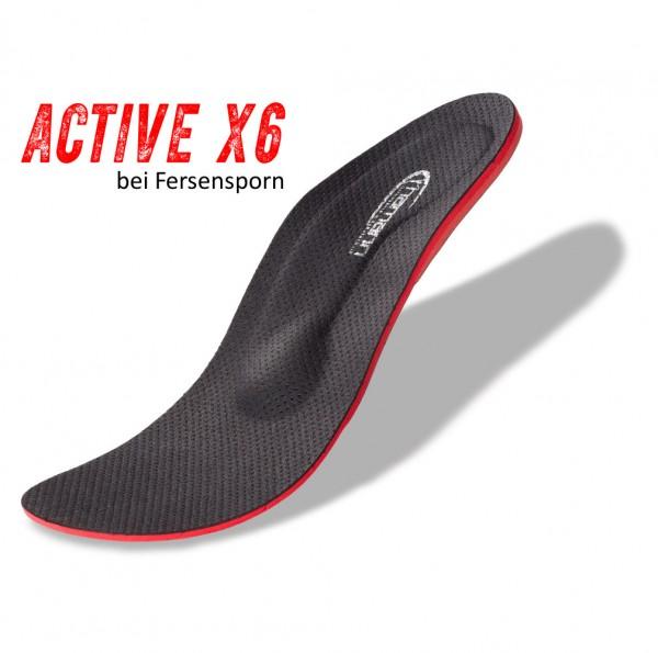 ACTIVE X6 Fersensporn Schuheinlagen Plantarfasziitis Orthopädische Einlagen versenspor fersenspor